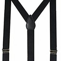 Skytouch Mens Suspender Belt & Bow (Skytouch _Black _Large)