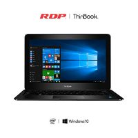 RDPThinBook .inchLaptop(Intel.GHzQuadCore/GBRAM/GBStorage/Windows)