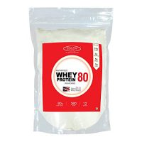Sinew Nutrition Raw Whey Protein Concentrate 80%, 360 g (Unflavoured)
